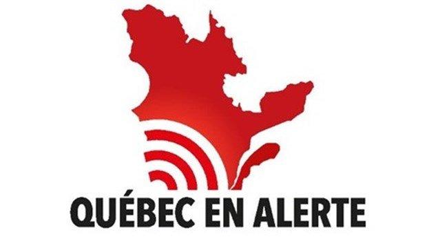 Québec en alerte: un test d'alerte national aujourd'hui à 13h58