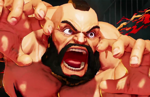 Street Fighter V : une bande-annonce dédiée à Zangief