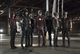Legends of Tomorrow: une photo du crossover Flash/Arrow