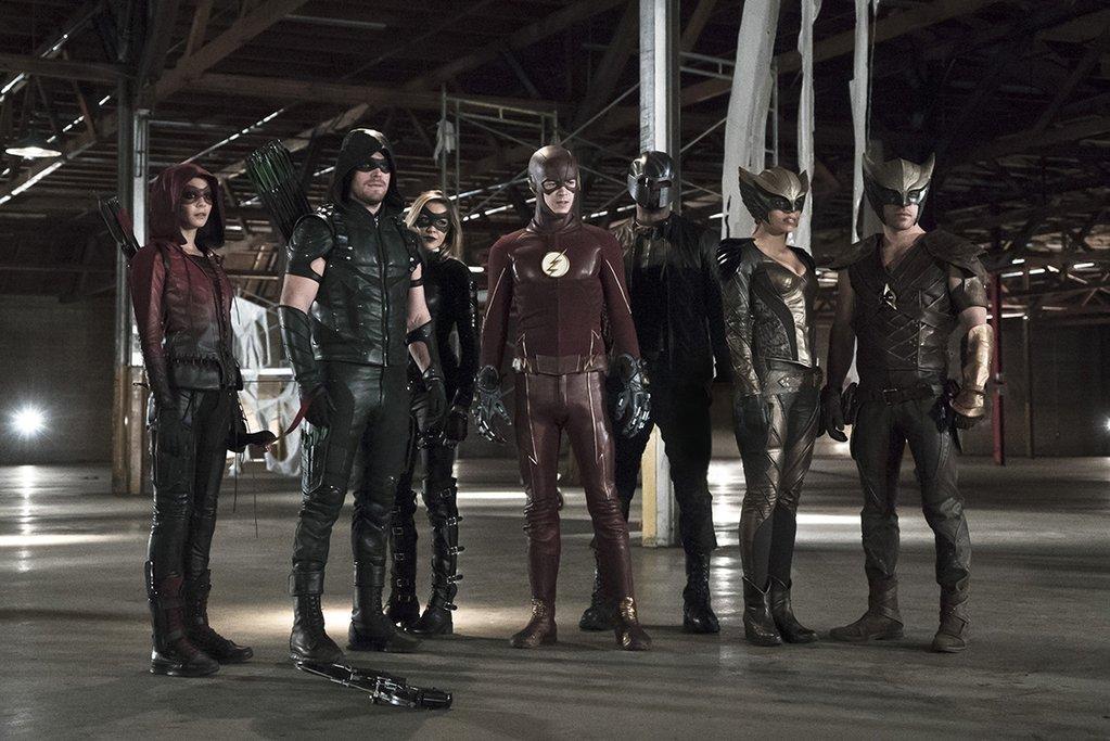 Legends of Tomorrow: une photo du crossover Flash/Arrow