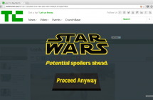 Star Wars: The Force Awakens: Star Wars Spoiler Blocker l'extension qui prévient les spoilers