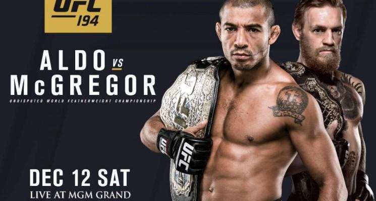 UFC 194: Aldo vs McGregor: vidéos promos