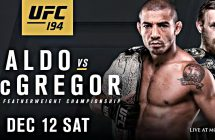 Comment regarder UFC 194: Aldo vs McGregor en stream
