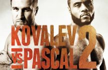 Pascal vs. Kovalev 2 live et streaming