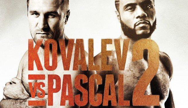 Pascal vs. Kovalev 2 live et streaming