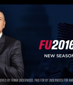 House of Cards saison 4: Frank Underwood a un message pour vous!