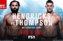 UFC Fight Night: Hendricks vs Thompson sur RDS2