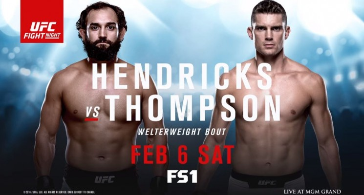UFC Fight Night: Hendricks vs Thompson sur RDS2