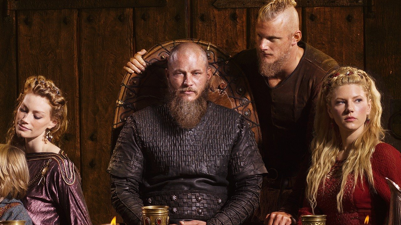 la saison 4 de vikings et les vrais vikings super cran. Black Bedroom Furniture Sets. Home Design Ideas