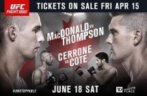 UFC Fight Night 89: Bagautinov va affronter Herrera à Ottawa
