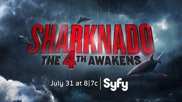 Sharknado: The 4th Awakens: une affiche qui parodie Star Wars