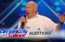 America's Got Talent : John Hetlinger, 82 ans, chante du Drowning Pool