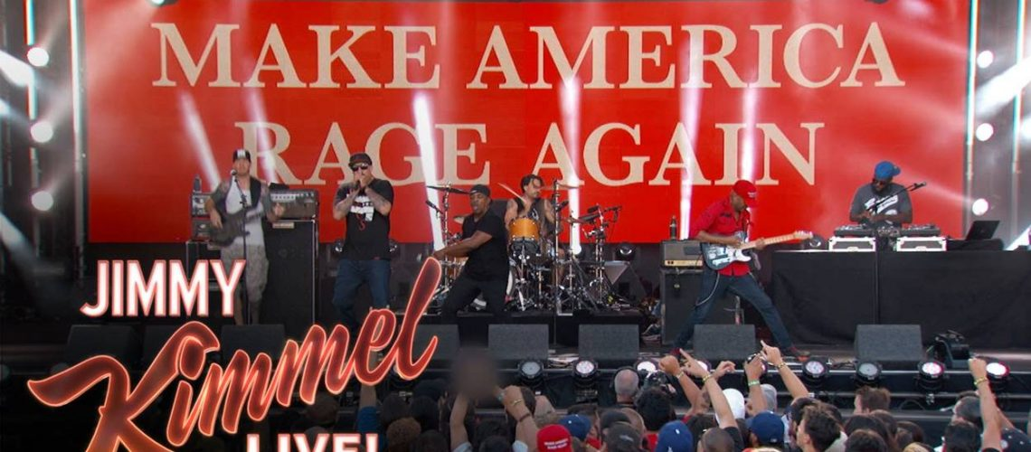 Prophets Of Rage: performance au Jimmy Kimmel Live
