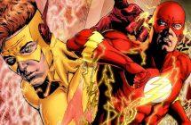 The Flash saison 3: une photo de Keiynan Lonsdale en Kid Flash