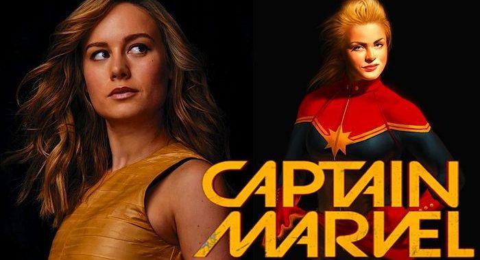 Brie Larson est officiellement Captain Marvel