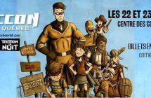 Le retour du Comiccon de Québec les 22 et 23 octobre prochains