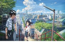 Your Name: le film d'animation dépasse Princess Mononuke