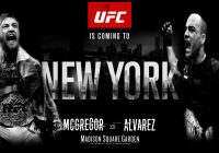 UFC 205: Alvarez vs McGregor en stream et sur Canal Indigo
