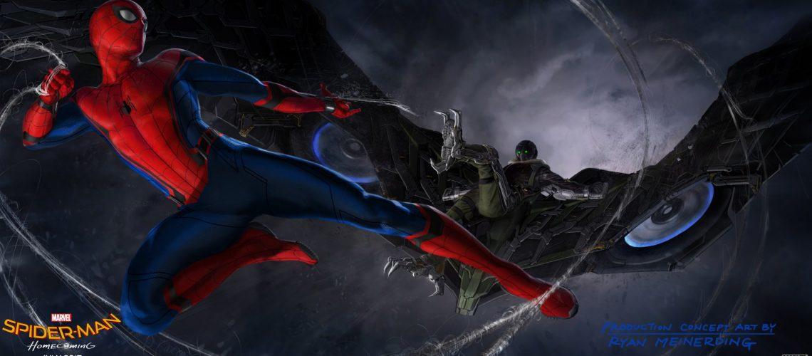 Spider-Man: Homecoming: premières images de Tom Holland en Araignée