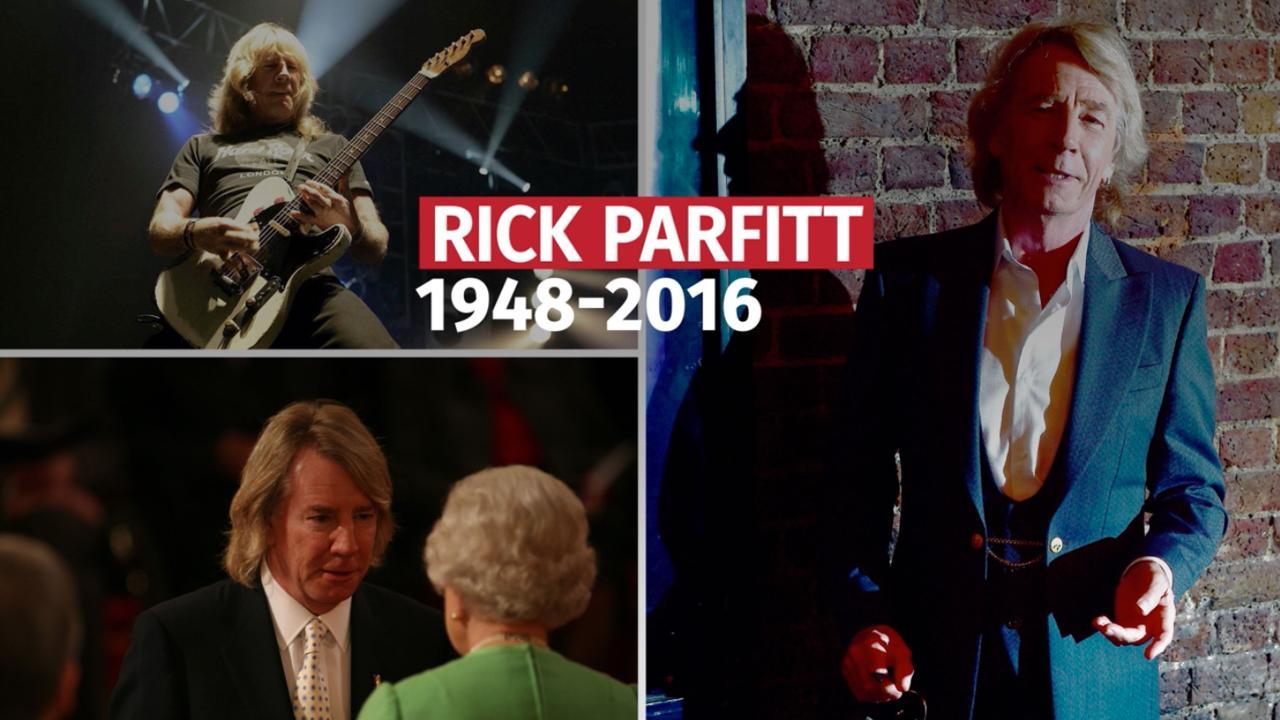 Rick Parfitt, guitariste du groupe britannique Status Quo, est mort