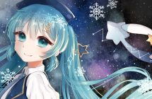 Snow Miku 2017: Hatsune Miku dévoile la chanson Star Night Snow