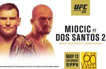 UFC 211: Miocic vs Dos Santos 2 stream et direct sur Canal indigo