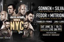 Bellator NYC: Sonnen vs Silva ce soir sur Canal Indigo