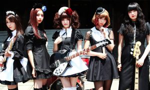 BAND-MAID: le groupe rock féminin en concert à Paris