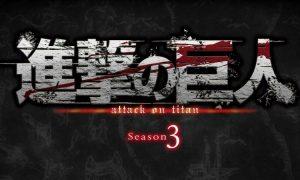 Shingeki no Kyojin : une saison 3 pour L'Attaque des titans