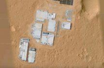 Google Maps: des constructions humaines sur Mars?