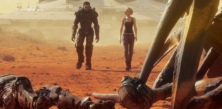 Starship Troopers: Traitor of Mars: Le film CG se dévoile dans une bande-annonce