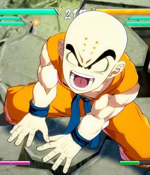 Dragon Ball FighterZ:  Krilin et son mode Histoire