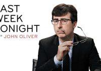 Last Week Tonight With John Oliver renouvelé jusqu'à 2020