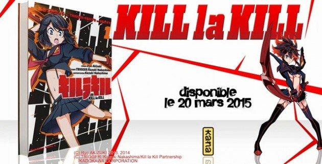 kill la kill manga france
