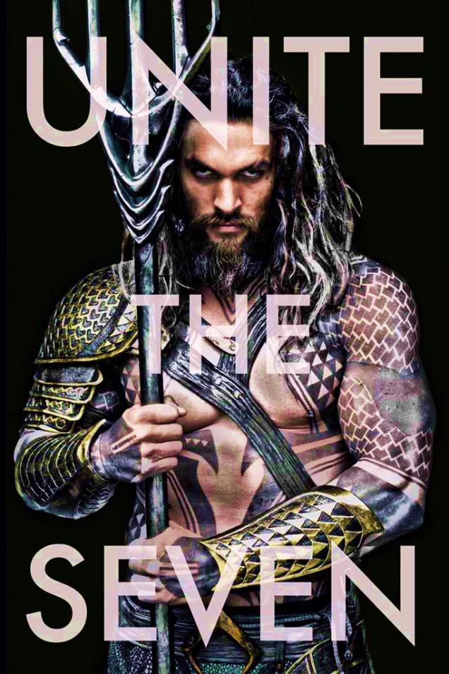 Aquaman de Jason Momoa