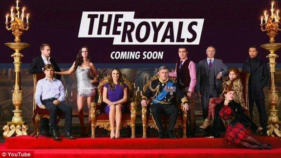 The Royals: une première série scénarisée pour la chaîne E!