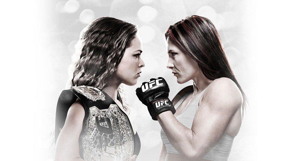 UFC 184: Rousey c. Zingano sur Indigo