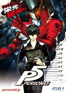 Persona 5 poster officel