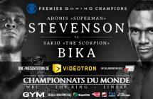 Premier Boxing Champions: Adonis Stevenson vs Sakio Bika à TVA Sports