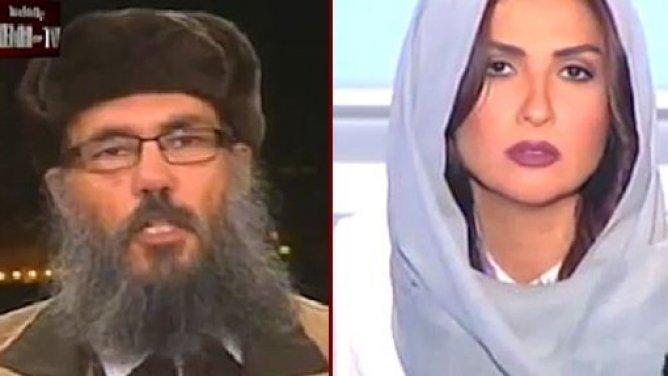La présentatrice libanaise Rima Karaki coupe un entretien en directe