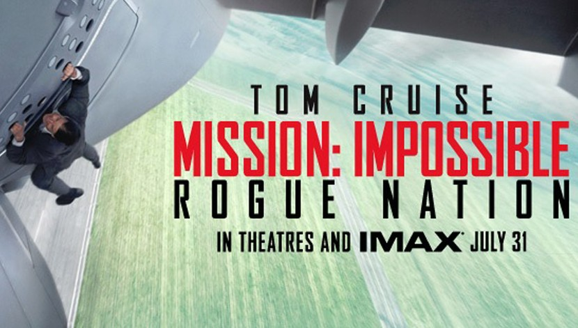 mission impossible rogue nation premi re bande annonce aguichante du 5e film. Black Bedroom Furniture Sets. Home Design Ideas