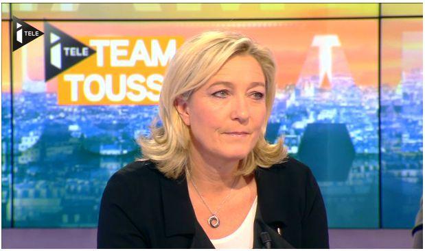 """L'invité de Bruce Toussaint: Marine Le Pen : """"L'Etat français n'a pas à former les imams"""""""