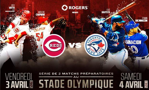 Les Blue Jays de Toronto vs les Reds de Cincinnati sur TVA Sports