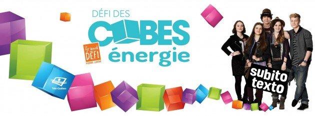 Cubes énergie