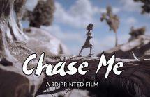 Chase Me : un travail de moine impressionnant, imprimé et bientôt primé!
