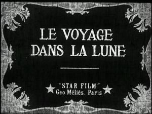 Carton de la Star Film pour Le Voyage dans la Lune