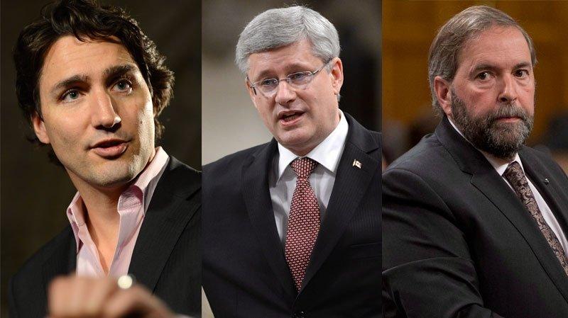 Élections fédérales 2015: le débat des chefs à TVA
