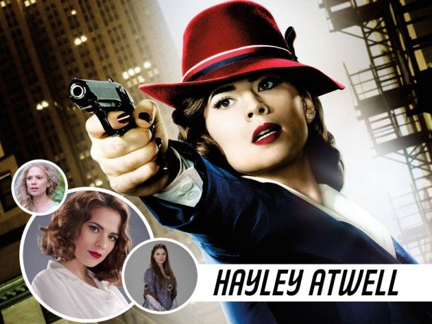 HAYLEY ATWELL #AgentCarter #PeggyCarter #CaptainAmerica
