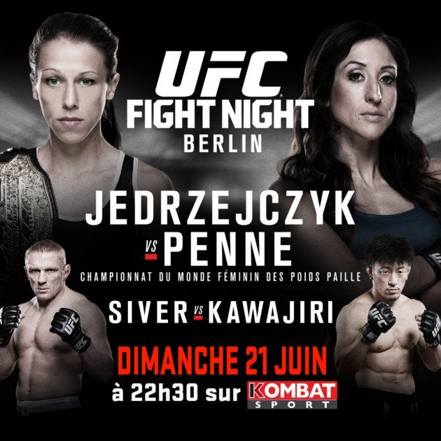 Fight Night Berlin: Jedrzejczyk vs. Penne