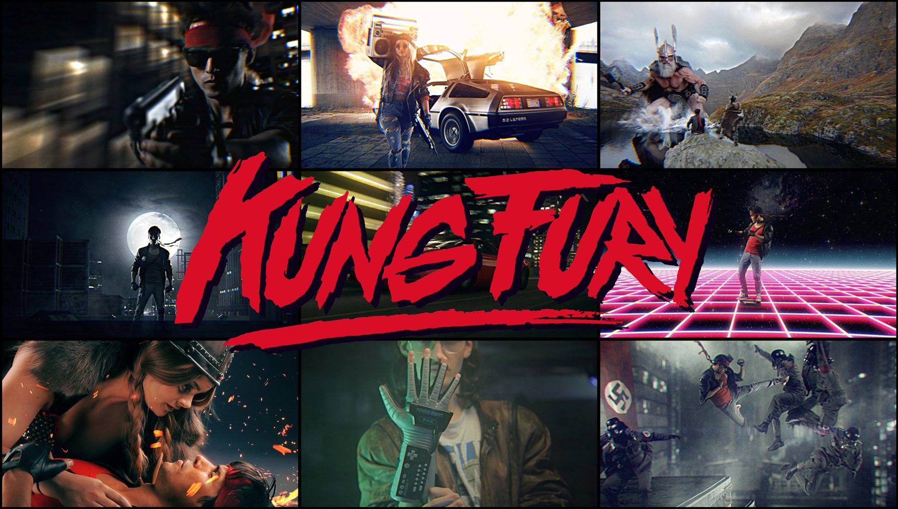 Kung Fury - Critique du court métrage de David Sandberg